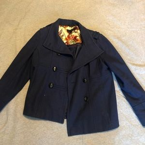 Navy Steve Madden coat